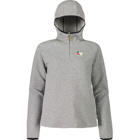 Maloja BoscaiaM. Sweat Hoody Damen grey melange